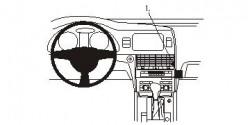 Fixation voiture Proclip  Brodit Audi Q7 Réf 853813