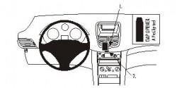 Fixation voiture Proclip  Brodit Peugeot 207 Réf 853815