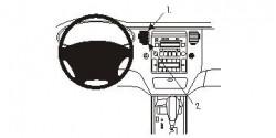 Fixation voiture Proclip  Brodit Hyundai Azera Réf 853826