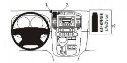 Fixation voiture Proclip  Brodit Hyundai Entourage Réf 853828