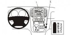 Fixation voiture Proclip  Brodit Hyundai Entourage Réf 853829