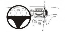 Fixation voiture Proclip  Brodit Hyundai Accent Réf 853830