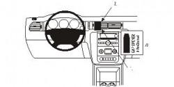 Fixation voiture Proclip  Brodit Chevrolet Avalanche Réf 853839