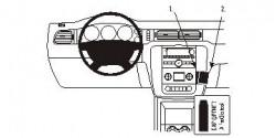 Fixation voiture Proclip  Brodit Chevrolet Avalanche  SEULEMENT pour le style de tableau de bord avec console centrale et deux bouches d'air au-dessus de la stéréo. Réf 853840