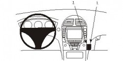 Fixation voiture Proclip  Brodit Lexus ES Series Réf 853847