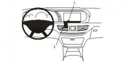 Fixation voiture Proclip  Brodit Mercedes Benz S-Class Réf 853852