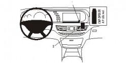 Fixation voiture Proclip  Brodit Mercedes Benz S-Class Réf 853853