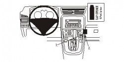 Fixation voiture Proclip  Brodit Fiat Croma Réf 853863