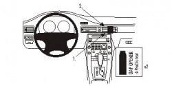 Fixation voiture Proclip  Brodit Volvo S80  PAS pour la finition bois Réf 853868