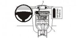 Fixation voiture Proclip  Brodit Citroen C6 Réf 853879
