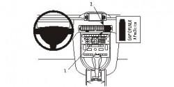 Fixation voiture Proclip  Brodit Citroen C6 Réf 853880