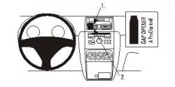 Fixation voiture Proclip  Brodit Fiat Sedici Réf 853883