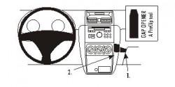Fixation voiture Proclip  Brodit Fiat Sedici Réf 853884