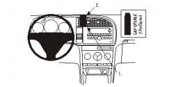 Fixation voiture Proclip  Brodit Saab 9-3  PAS pour les modèles avec option GPS d'origine. Réf 853901