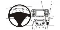 Fixation voiture Proclip  Brodit Subaru Legacy Réf 853903