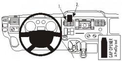Fixation voiture Proclip  Brodit Ford Transit  Va bloquer porte-gobelet et une table. Réf 853904