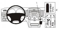 Fixation voiture Proclip  Brodit Kia Magentis Réf 853917