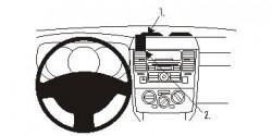 Fixation voiture Proclip  Brodit Nissan Tiida Réf 853919