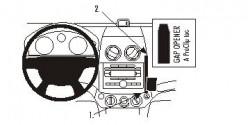 Fixation voiture Proclip  Brodit Chevrolet Aveo Réf 853924