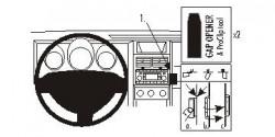 Fixation voiture Proclip  Brodit Dodge Nitro Réf 853930