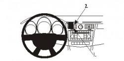 Fixation voiture Proclip  Brodit Chrysler Sebring Réf 853947