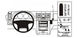 Fixation voiture Proclip  Brodit Ssang Yong Rexton Réf 853952