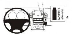 Fixation voiture Proclip  Brodit Chevrolet Captiva Réf 853954