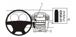 Fixation voiture Proclip  Brodit Chevrolet Captiva Réf 853957