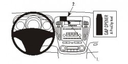 Fixation voiture Proclip  Brodit Kia cee'd Réf 853958