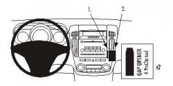 Fixation voiture Proclip  Brodit Kia cee'd Réf 853959