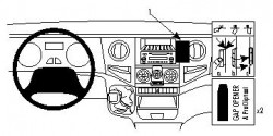 Fixation voiture Proclip  Brodit Iveco Daily Réf 853969