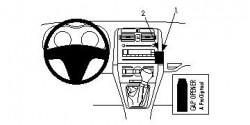 Fixation voiture Proclip  Brodit Toyota Auris  PAS pour les modèles avec option GPS d'origine. Réf 853985
