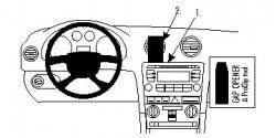 Fixation voiture Proclip  Brodit Audi A3  PAS pour les modèles avec écran de navigation. Réf 853989