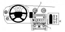 Fixation voiture Proclip  Brodit Audi A3  PAS pour les modèles avec écran de navigation. Réf 853990