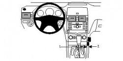 Fixation voiture Proclip  Brodit Mercedes Benz C-Class (180-320) Réf 853994