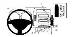 Fixation voiture Proclip  Brodit Citroen C-Crosser Réf 854001