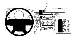 Fixation voiture Proclip  Brodit Ford F-Series 250  PAS pour les modèles avec rabaissez système de navigation. Réf 854013