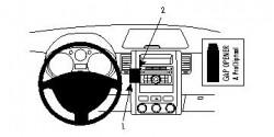 Fixation voiture Proclip  Brodit Nissan X-Trail Réf 854065