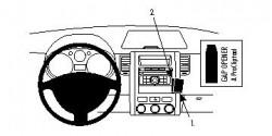Fixation voiture Proclip  Brodit Nissan X-Trail Réf 854066