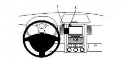 Fixation voiture Proclip  Brodit Nissan X-Trail Réf 854067