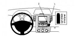 Fixation voiture Proclip  Brodit Nissan X-Trail Réf 854068
