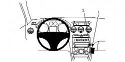 Fixation voiture Proclip  Brodit Peugeot 308 Réf 854072