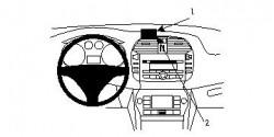 Fixation voiture Proclip  Brodit Fiat Bravo Réf 854074
