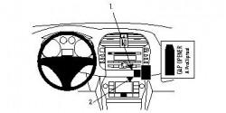 Fixation voiture Proclip  Brodit Fiat Bravo Réf 854075