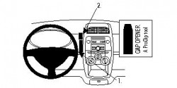 Fixation voiture Proclip  Brodit Daihatsu Sirion Réf 854120