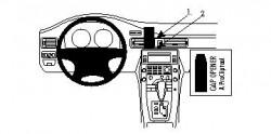 Fixation voiture Proclip  Brodit Volvo S80  PAS pour la finition bois Réf 854129