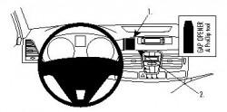 Fixation voiture Proclip  Brodit Renault Laguna Réf 854132