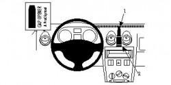 Fixation voiture Proclip  Brodit Dacia Logan Réf 854165