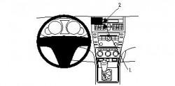 Fixation voiture Proclip  Brodit Mazda 6 Réf 854169