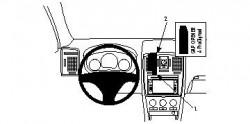 Fixation voiture Proclip  Brodit Cadillac BLS Réf 854175